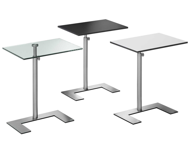 Height adjustable Occassional table: For U