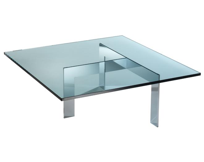 Glazen salontafel  Frame   Lourens Fisher