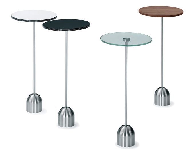 Eileen Gray Occasional Table Triple Occasional Tables - Lourens Fisher