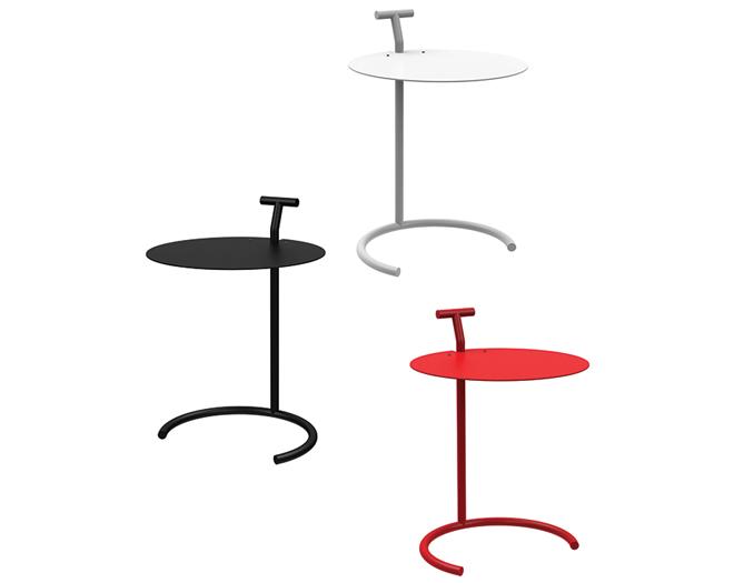 zwart wit rode design bijzettafel