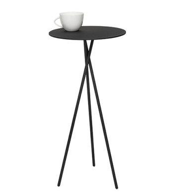 Mork zwart Design bijzettafel