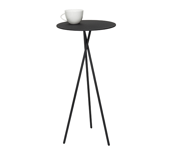 Steel Occassional table: Mork
