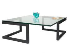 Glazen salontafel: DUO
